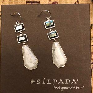 Silpada w2950 earrings sterling silver 925